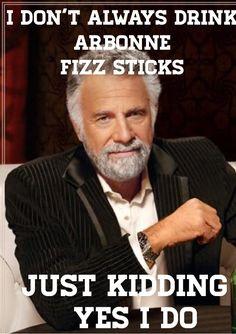 I don't always drink Arbonne Fizz Sticks... Just kidding, yes I do! | www.natalieduguay1.arbonne.ca