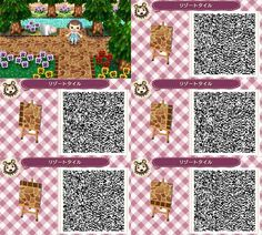 qr codes for animal crossing new leaf paths - Google Search