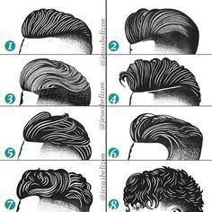 Hairstyles For Men (Undercut) | By Jesús Belizón [Drawing - Fashion - Long Top - Short Sides]