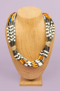 Growing - Perler Bead Necklace by Christy Curcuru