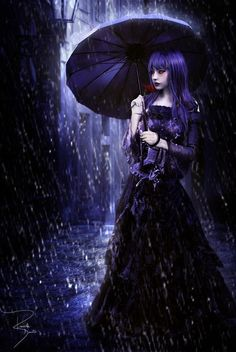 purple darkness