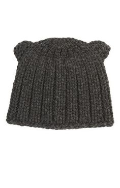 9e86800f03e Chunky Ribbed-Knit Beanie Cable Knit Hat