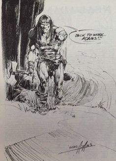 Cap'n's Comics: Back To Work, Adams!!! by Neal Adams