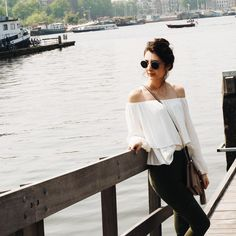 Down by the canal: casual summer