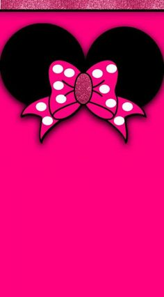 Wallpaper Iphone Disney Cute Mickey Mouse Ideas For 2019 Bow Wallpaper, Wallpaper Iphone Disney, Trendy Wallpaper, Cute Wallpapers, Kitty Wallpaper, Minnie Mouse Pink, Disney Mickey Mouse, Video Simpson, Mickey Mouse Wallpaper