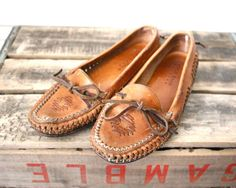 Leather Moccasin. I want these!