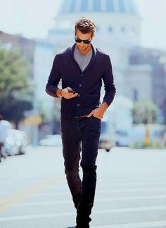 nice Street style: The Bona Style: Crazy About a Sharp-Dressed Man Man Street Style, Street Style Outfits, Men Street, Street Wear, Sharp Dressed Man, Well Dressed Men, Style Casual, Casual Wear, Men Casual