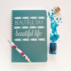 I have a crazy obsession with awesome notebooks! I got this one from @makemynotebook at #AltSummer2015 #beautifulday