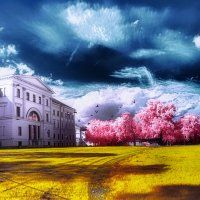 Intuition Electromagnetic Spectrum, Infrared Photography, Human Eye, Intuition, Clouds, Gallery, Nature, Photos, Painting
