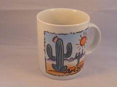 Arizona Souvenir Mug Cup Cocoa Coffee Tea  by EauPleineVintage, $8.00
