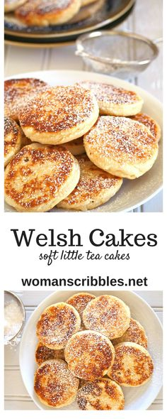 recipes english Welsh Cakes Welsh Cakes are soft and buttery little cakes delicious for snacking and are either served hot or cold. Serve them with your coffee or ice cream as they are satisfying little treats anytime of day. Welsh Cakes Recipe, Welsh Recipes, Scottish Recipes, Scottish Desserts, Baking Recipes, Cookie Recipes, Fun Desserts, Dessert Recipes, Little Cakes