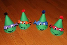 TMNT birthday party . Teenage Mutant Ninja Turtle por LittleGoobers