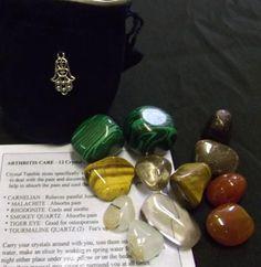 Arthritis crystals set