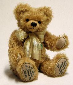 Hermann Coburg Teddybär 100 Jahre Gedenkbär - Commemorative Bear | eBay