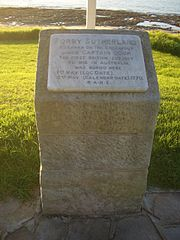 Today in Australian History - 1 May 1770Forby Sutherland was a member of the crew of the Endeavour during Captain Cook's voyage to New South Wales.   He died while the ship was in Botany Bay, making him the first British subject to die in Australia and the first European to die in New South Wales. For more click photo and share please