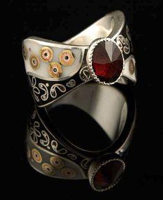 Ruby ring designed by  BLAZKO Jewlery