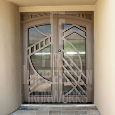 Iron Entry Doors from First Impression Ironworks are crafted uniquely for your home. Our steel entry doors are an investment … Iron Gates, Iron Doors, Door Design, House Design, Entry Doors, Front Entry, Steel Doors, Security Doors, Architecture