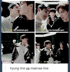 BTS | Either they compliment each other or they insult each other xD