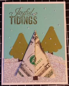 Klompen Stampers (Stampin' Up! Demonstrator Jackie Bolhuis): Day #7: Gift Card Holders
