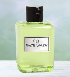Face wash gel for dry or oily skin skin