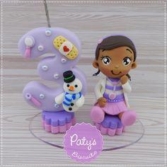 Mini Topinho com vela Doutora Brinquedos