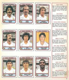 Real Madrid (1981/82) Football Photos, Sport Football, Joueurs Real Madrid, Real Madrid History, Real Madrid Football Club, Football Stickers, Real Madrid Wallpapers, Real Madrid Players, Band Posters