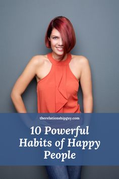 This post essentially considers one vital question, what are the habits of happy people, if any? What causes some people to be happy most of the time while others are not? Best Relationship Advice, Happy People, Tony Robbins, Good Times, Shit Happens, Guys, Sons, Boys