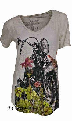 damen t shirt live your dreams grün