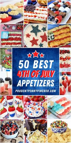 Get your of July party started off right with these festive of July appetizers. From healthy fruit trays to easy dips, there are plenty of of July food ideas that are perfect for a crowd. There are sweet and savory of July appetizer ideas to choose from. July 4th Appetizers, 4th Of July Desserts, Fourth Of July Food, 4th Of July Party, Fourth Of July Recipes, 4th Of July Ideas, Irish Desserts, Elegant Desserts, Chips Ahoy