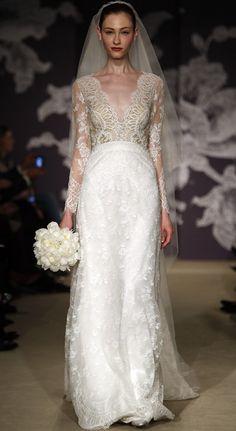 2015 Bridal Gowns Runway   Carolina Herrera 2015 Bridal Gown