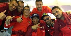 Cristiano Ronaldo Pictures with his Friends