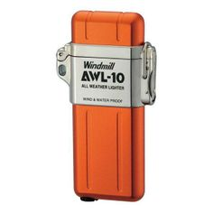 Great Goods Now - AWL All Weather Lighter, Matte Orange, $57.95 (http://greatgoodsnow.com/awl-all-weather-lighter-matte-orange/)