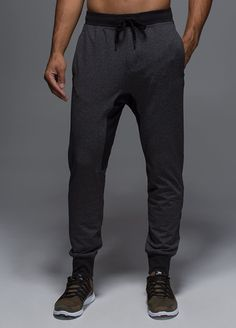 Right now, tailored track pants are as important on men's runways as they are in the weight room. Split the difference here with these slim colorblocked sweats from cult yoga brand Lululemon. Just act fast because these things sell out overnight. Anti-gravity pant ($98) by Lululemon, lululemon.com