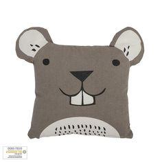 Bloomingville Embroidered Animal Cushion - Beaumonde Safari Nursery, Animal Nursery, Anime Animals, Cute Animals, Scandinavian Kids Rooms, Animal Cushions, Cute Pillows, Scatter Cushions, Cushion Pads