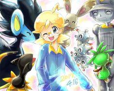 Clemont and his Pokémon ^^❤