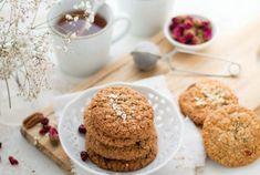 Havermoutkoekjes Brookies, Quiche, Pie, Breakfast, Desserts, Food, Oatmeal, Kitchens, Torte