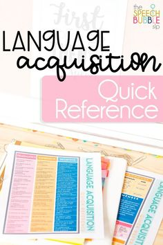 This quick reference is perfect for your speech or occupational therapy room!  Keep it handy at all times to check your students' progress.  This reference is FREE for my subscribers! Head on over to my website and subscribe today! #classroom #student #development #SLP #SPED #language #schools #therapy #speech