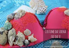 Come fare il corpetto del costume da sirena Coin Purse, Gaia, Masks, Mermaid, Coin Purses, Face Masks