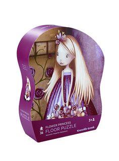 Pumpkin Patch - books + puzzles - mini shaped box puzzle flower princess - P1GT10316 - multi - osfa