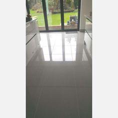 Light Grey Doblo Polished Porcelain 598x598 - Floor Tiles from Tile Mountain