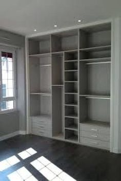 35 Best Walk in Closet Ideas and Picture Your Master Bedroom Looking for some fresh ideas to remodel your closet? Visit our gallery of leading best walk in closet design ideas and pictures. Wardrobe Design Bedroom, Master Bedroom Closet, Bedroom Wardrobe, Wardrobe Closet, Closet Space, Bedroom Decor, Decor Room, Closet Doors, Build In Wardrobe