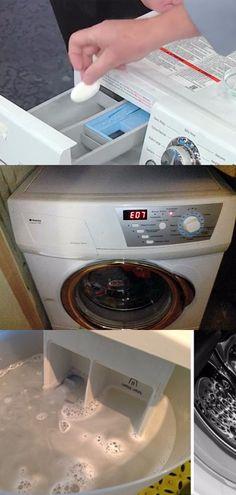 А Вы знаете, что стиральная машинка полна бактерий? Эту проблему можно решить с помощью одного ингредиента! Cleaning Hacks, Washing Machine, Kitchen Appliances, Organization, Tips, Handmade, Household, Do It Yourself, Diy Kitchen Appliances
