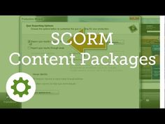 Camtasia Studio 8.1: SCORM Content Packages - YouTube