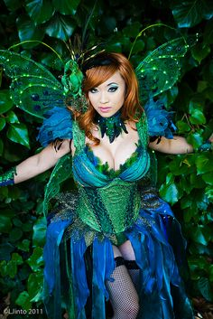 Inspiration for the Oregon Country Fair costume we're making — Absinthe Fairy by LJinto, via Flickr