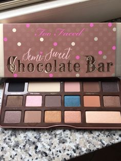 Nuova palette too faced ❤️❤️❤️
