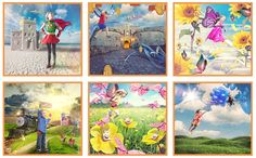 Shawn is giving hope to children with health conditions with the Drawing Hope Project. The Finished Magical Photos.
