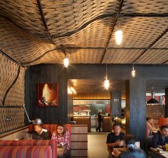 Restaurant or bar Nando's (Dublin) Lead designer Buckley Gray Yeoman Category International restaurant Modern Restaurant, Restaurant Design, Restaurant Bar, Bar Design Awards, Decorative Screens, Great Hotel, Cafe Bar, Dublin, Cottage
