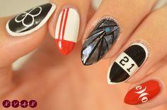 #EXO #LuckyOne Inspired Nail Art