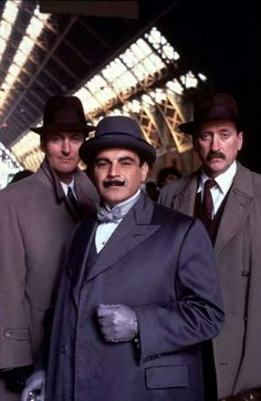 Poirot, Hastings and Japp
