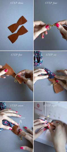 How to make a strap for a camera, instrument, or whatever else that's in need of a strap(: